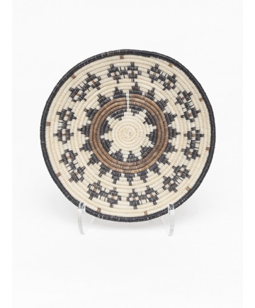 Miniature Horsehair Basket by G. Ramone (Tohono O'odham)