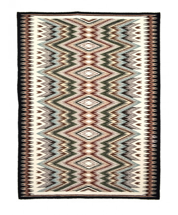 Red Mesa rug by Ruby Coggashell (Navajo)