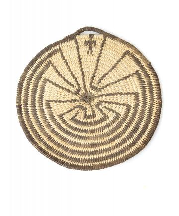 c. 1930 Man in the Maze miniature basket by an unknown artist (Pima)