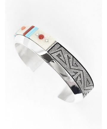 Multi-Stone Bracelet by Richard Tsosie (Navajo)