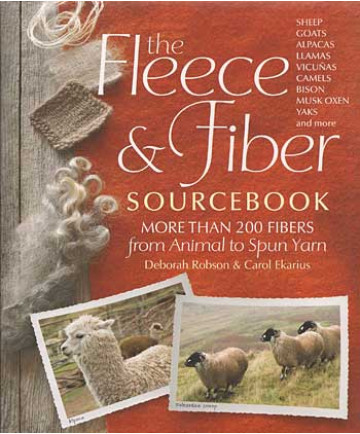 Fleece & Fiber Sourcebook by Robson & Ekarius