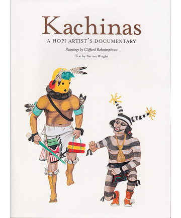 Kachinas by Barton Wright