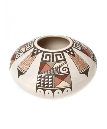 Polychrome pottery by Rainy Naha (Hopi)