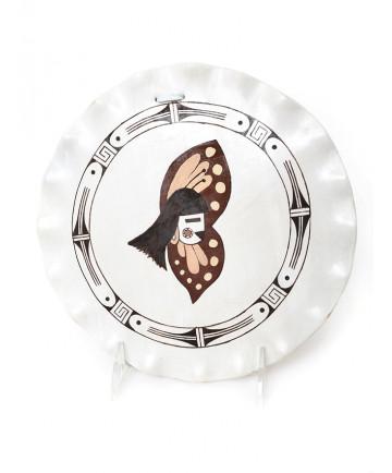 Pottery Plates by Tyra Leslie (Hopi)