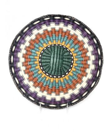 c.1970's wicker basker by an unknown artist (Hopi)