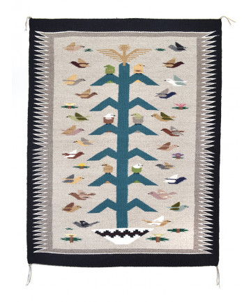 Tree of Life rug by Brianna Segay (Navajo)