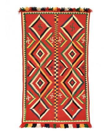 Germantown rug by an unknown artist (Navajo)