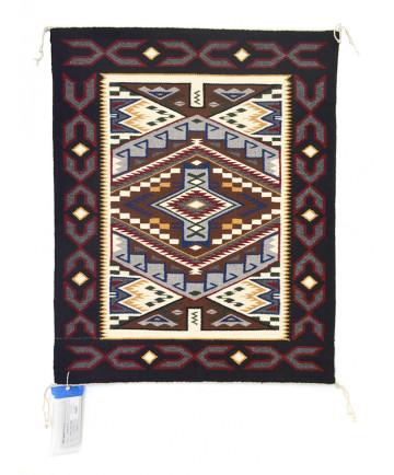 Teec Nos Pos rug by Irene Tom (Navajo)