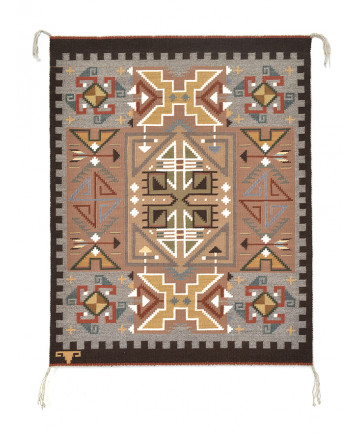 Teec Nos Pos rug by Alice Thompson (Navajo)