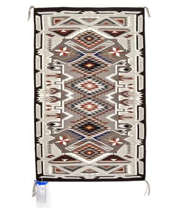 Teec Nos Pos rug by Mae Chester (Navajo)