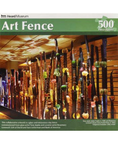 Heard Museum Art Fence 500 Piece Jigsaw Puzzle