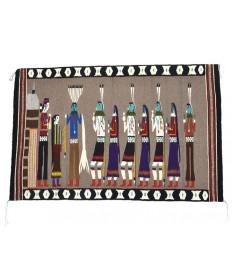 Yei Bi Chei rug by Lily Yazzie (Navajo)