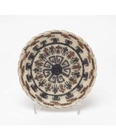 Miniature Horsehair Basket by Adeline Molina (Tohono O'odham)