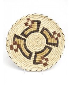 Polychrome Basket by an Unknown Aritst (Tohono O'odham)