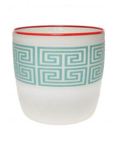 Glass berry bowl by Preston Singletary (Tlingit)