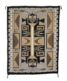 Teec Nos Pos rug by an unknown artist (Navajo)