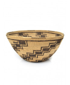 Stair Step motif Basket by an Unknown Artist (Panamint)