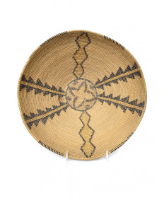 c. 1920 Polychrome Basket by an Unknown Artist (Panamint)