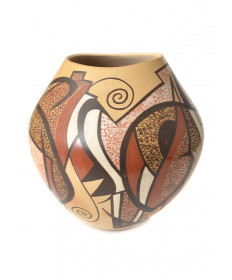 Pottery jar by Les Namingha (Hopi)