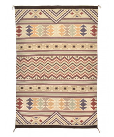 Burntwater rug by Emily Blake (Navajo)