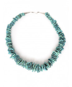 Turquoise necklace by an unknown artist