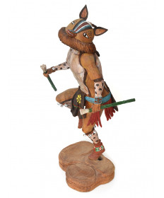Chipmunk kachina doll by Cecil Calnimptewa (Hopi)