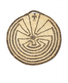 c. 1930 Man in the Maze miniature basket by an unknown artist (Pima)