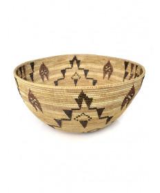 c. 1931 coiled basket by Maria Harry (Mono Lake Paiute)