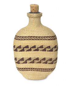 c. 1909 flask by Datsolalee (Washoe)