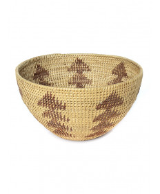 c. 1915 miniature basket by Datsolalee (Washoe)
