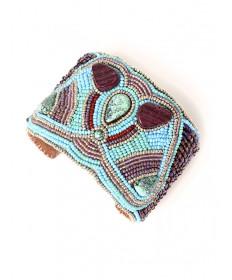 Beaded bracelet by Jovanna Poblano (Zuni)