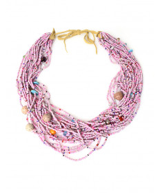 Beaded necklace by Yolanda Hart Stevens (Gila River)