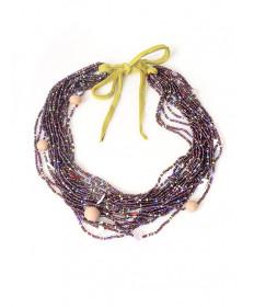 Beaded necklace by Yolanda Hart Stevens (Gila River)