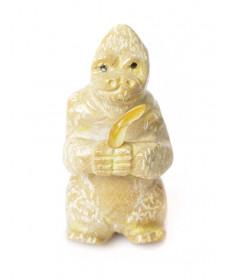 Gorilla fetish carving by Freddie Leekya (Zuni)