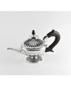 Sterling Silver Teapot by Edison Cummings (Navajo)