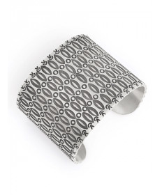 Sterling Silver Bracelet by Ray Scott (Navajo)