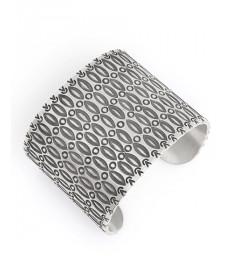 Sterling Silver Bracelet by Ray Scott (Navajo)