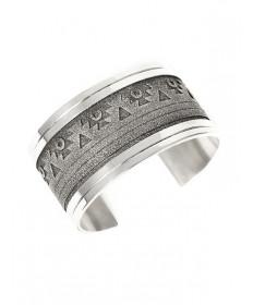 Sterling silver bracelet by Richard Tsosie (Navajo)