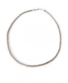 Sterling silver necklace by Smokey Gchachu (Zuni)