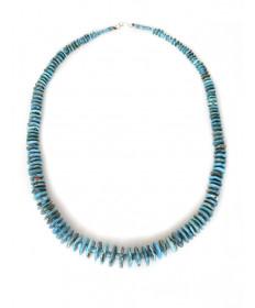 Sleeping Beauty turquoise necklace by Lita Atencio (Santo Domingo)