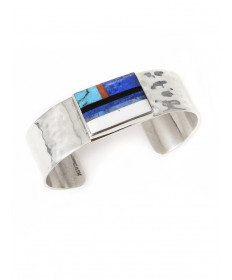 Multi-stone bracelet by Veronica Benally (Navajo)