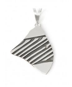 Sterling silver pendant by Mark Stevens (Laguna)
