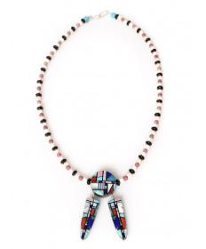 Multi-stone necklace by Chris Nieto (Santo Domingo)