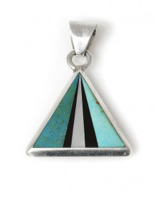 Multi-stone pendant by Veronica Thompson (Navajo)