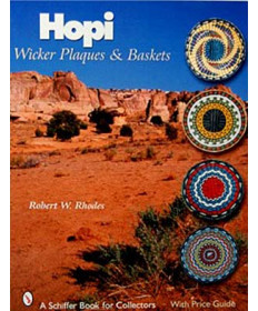 Hopi Wicker Plaques and Baskets by Rhodes