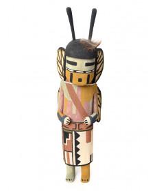Butterfly male kachina doll by Raynard Lalo (Hopi)