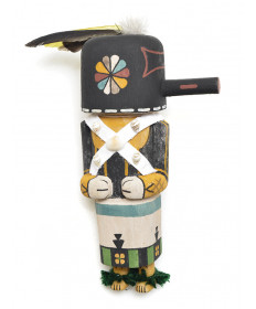 Zuni Warrior kachina doll by Kory Jean (Hopi)