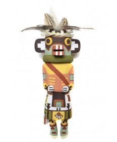 Hotsani kachina doll by Gene Dawahoya (Hopi)