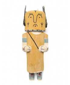 Storyteller kachina doll by Kory Jean (Hopi)