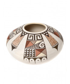 Polychrome pottery by Rainy Naha (Hopi)